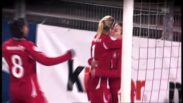 Video «Fussball: Highlights Lara Dickenmann» abspielen