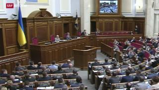 Video «Ukraine nähert sich EU an» abspielen