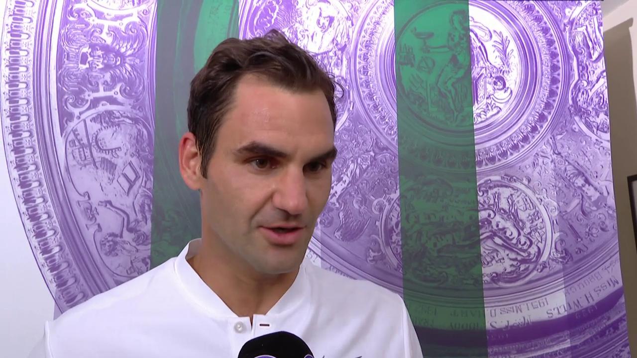 Federer: «Es war nicht so einfach, wie es aussah» (Engl.)