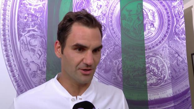 Video «Federer: «Es war nicht so einfach, wie es aussah» (Engl.)» abspielen