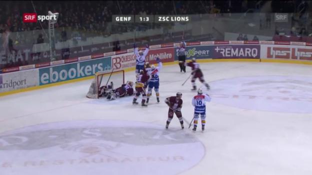 Video «Eishockey: Genf - ZSC Lions» abspielen