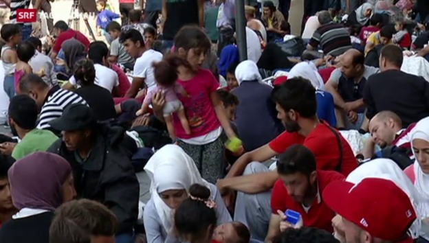 Video «Flüchtlinge: Ein aktueller Augenschein in Budapest» abspielen