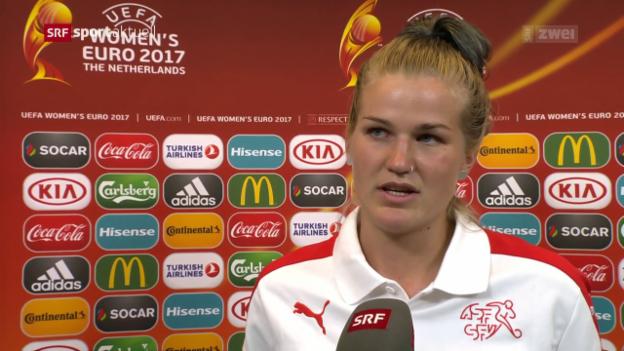 Video «Die Reaktion auf die Schweizer Niederlage» abspielen