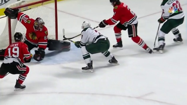 Video «What a Save – Crawford mit dem Schoner» abspielen
