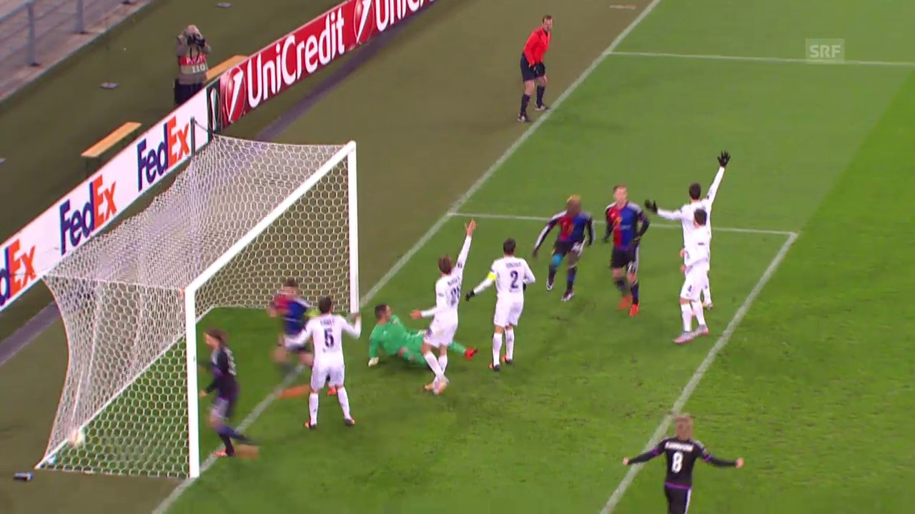 Fussball: Europa League, FC Basel – Fiorentina, 1:2 für Basel
