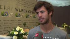 Video «Chatschanow über sein Duell gegen Federer» abspielen