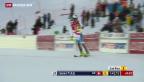 Video «Daniel Yule sichert sich WM-Ticket im Slalom» abspielen