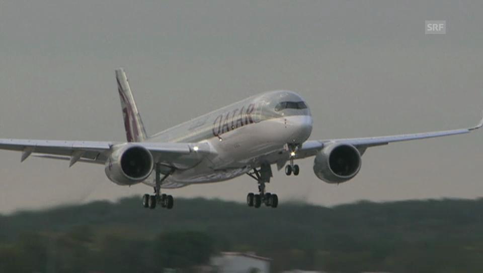 Der erste A350