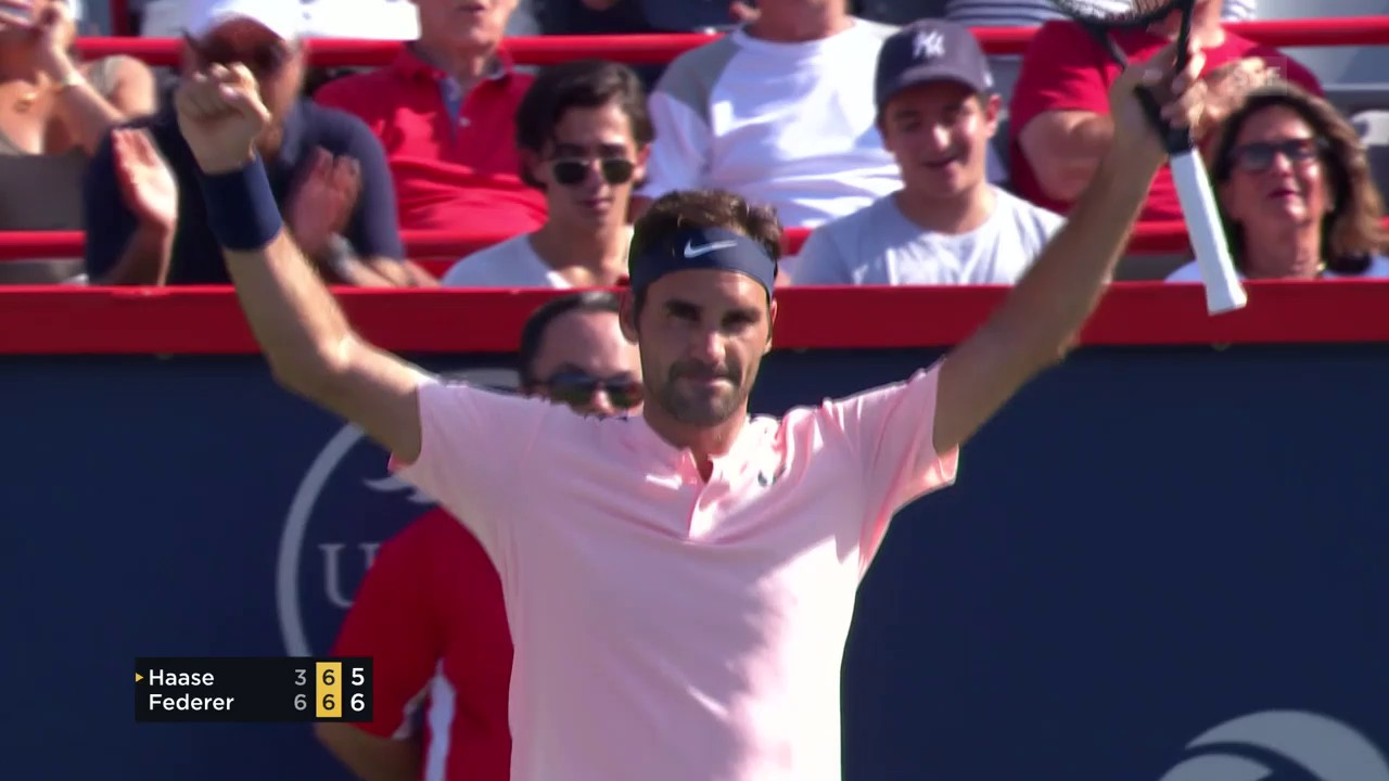 Federer - Haase: Livehighlights