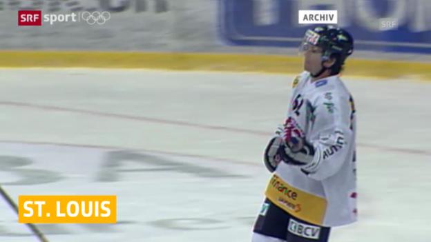 Video «Eishockey: St. Louis nachnominiert («Sotschi aktuell», 06.02.14)» abspielen