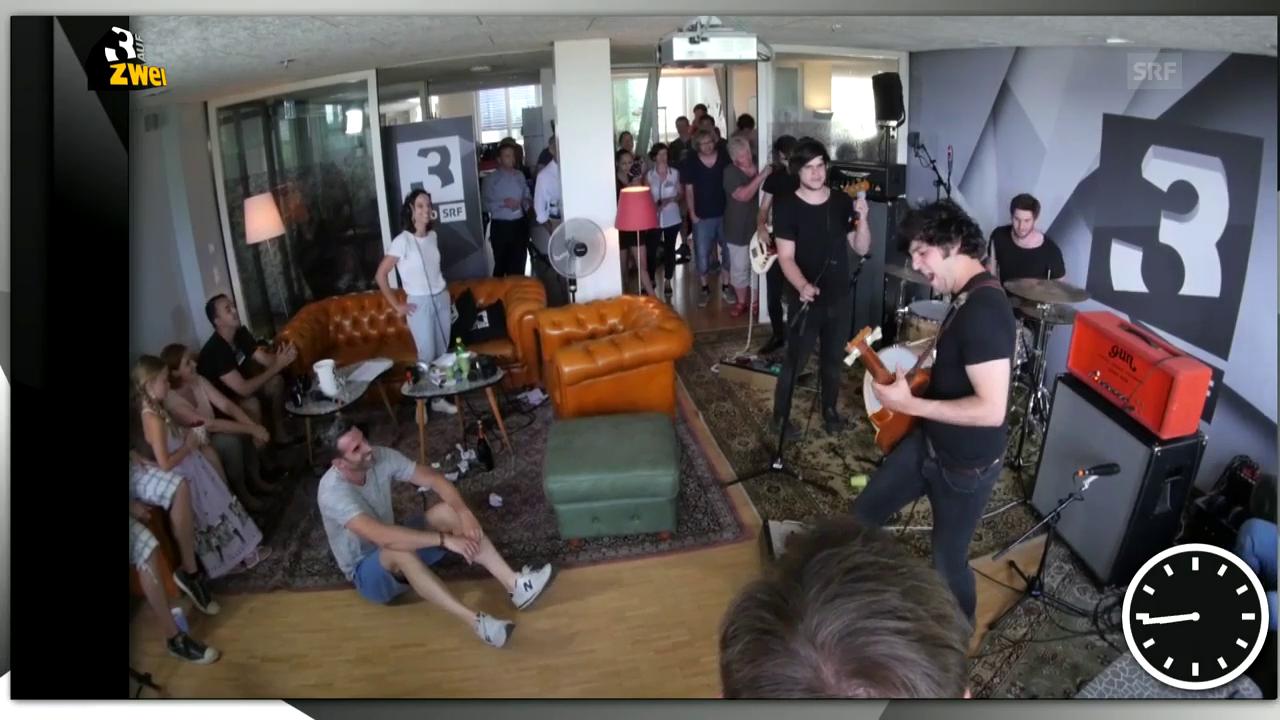 Tinitus on: Pablo Infernal rocken das SRF-3-Studio