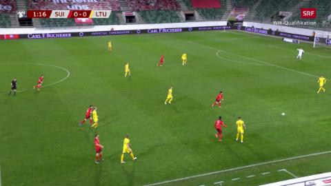 Shaqiri fa suenter 86 secundas in gol