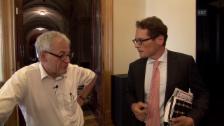 Video «Kurt Fluri und Roger Köppel kreuzen die Klingen» abspielen