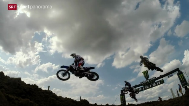 Video «Motocross: WM-Läufe in Lommel (Be)» abspielen