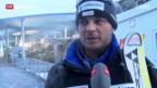 Video «Ski: Der Schweizer Speed-Trainer Daniele Petrini» abspielen