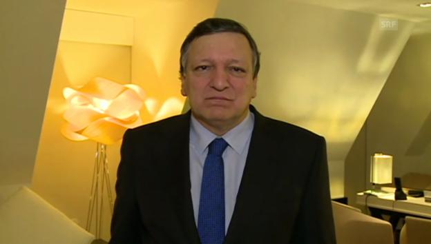 Video «Barroso: «Er wird über seinen Tod hinaus Vorbild bleiben» (engl.)» abspielen