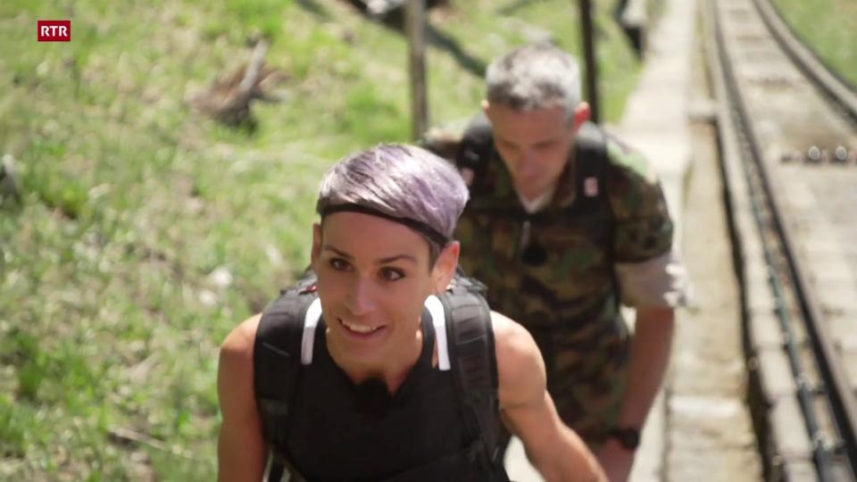 Prim d'avust: Corina en Svizra tudestga