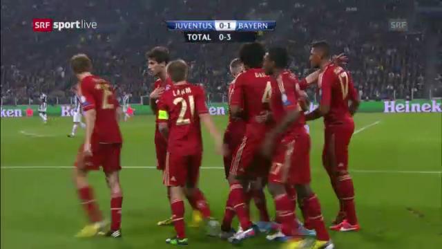 Highlights Juventus - Bayern («sportlive»)