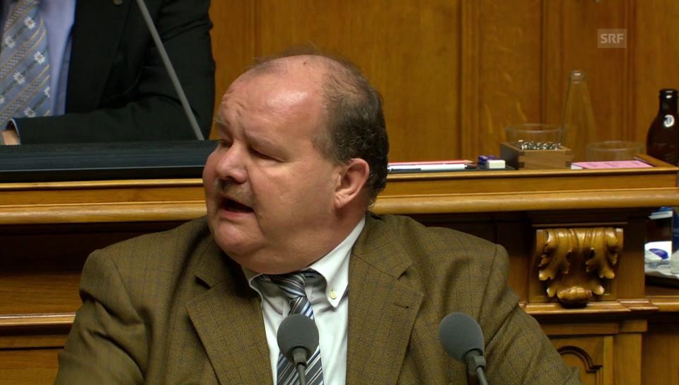 Felix Müri (SVP/LU) verweigert sich