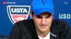 Video «Federer nach der Niederlage gegen Robredo» abspielen