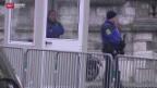 Video «Erhöhte Sicherheitsmassnahmen» abspielen