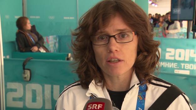 Video «Mirjam Ott im Interview (sotschi clip, 20.02.2014)» abspielen