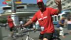 Video «Baseball: Schweizer Spieler promoten Heim-WM» abspielen