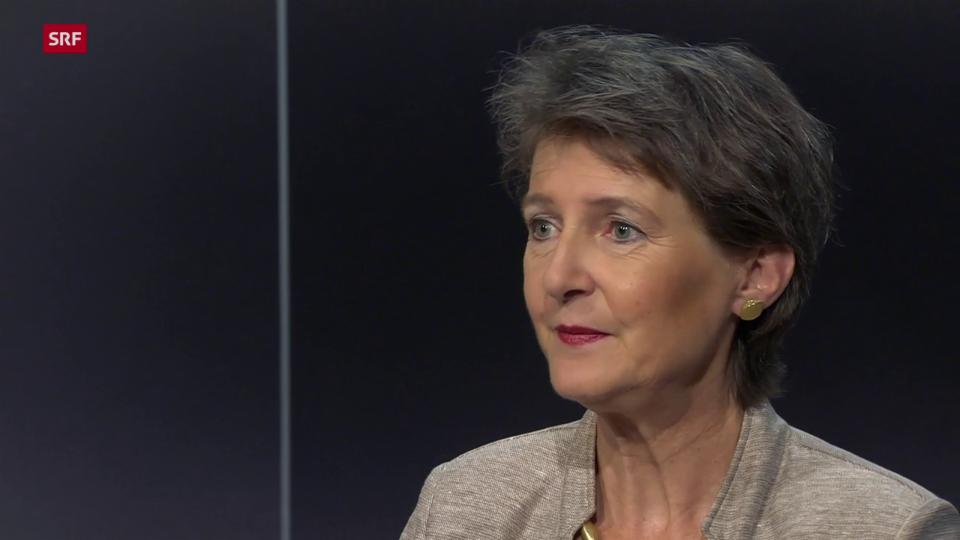 Simonetta Sommaruga, Umwelt- und Energieministerin: «Es braucht jetzt keine AKW-Diskussion»