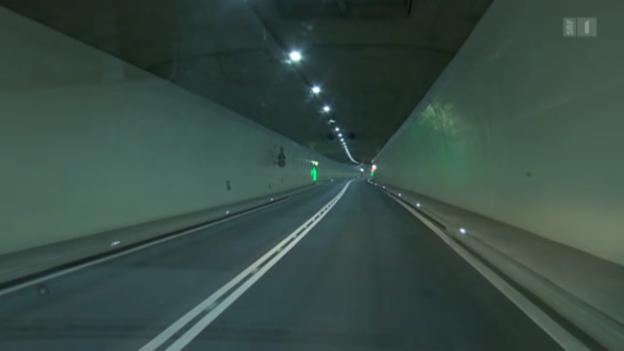 Video «Tunnelstudie bringt Licht ins Dunkel» abspielen