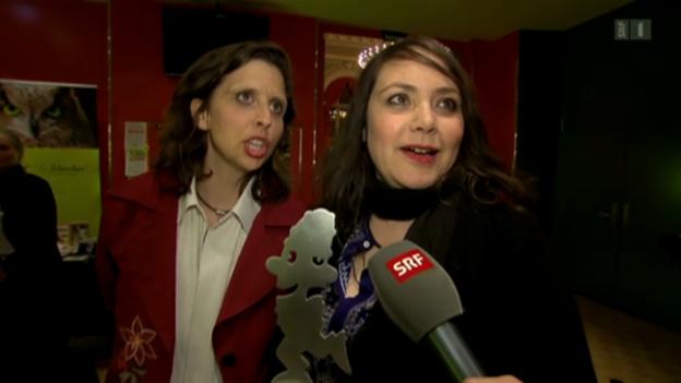 Video «Comedyladys an den Kabarett-Tagen Olten» abspielen