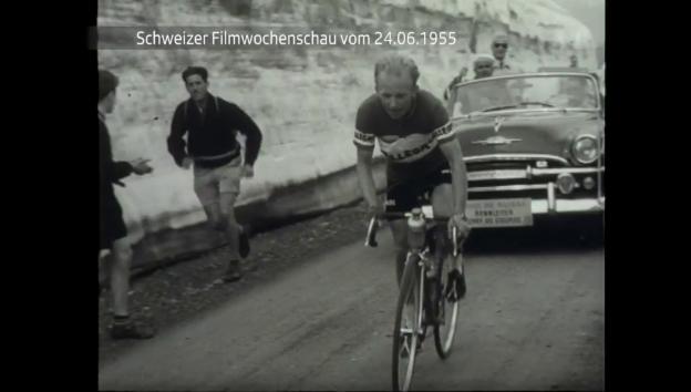 Video «Schweizer Filmwochenschau vom 24.6.1955» abspielen