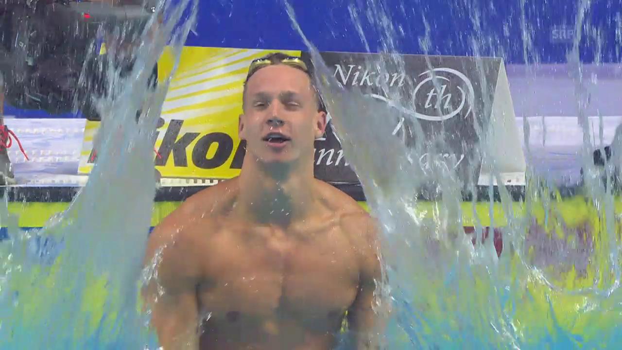 Caeleb Dressel, der schnellste Schwimmer der Welt