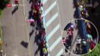 Video «Peter Sagan von der Tour de France ausgeschlossen» abspielen