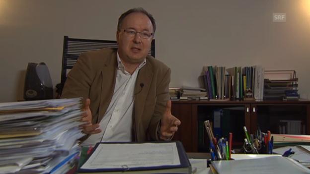 Video «Pierre-Yves Maillard zum Gerechtigkeitsproblem (frz.)» abspielen