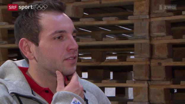 Video ««Udatschi» mit Curler Sven Michel» abspielen