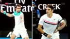 Video «Federer und Cilic im Direktvergleich» abspielen