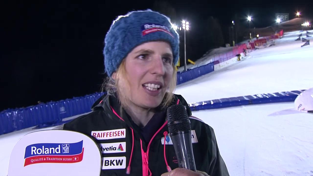 Alpin-Snowboard: Interview mit Patrizia Kummer nach dem Sieg in Cortina