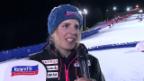 Video «Alpin-Snowboard: Interview mit Patrizia Kummer nach dem Sieg in Cortina» abspielen