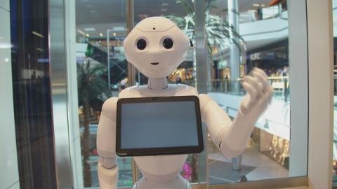 Roboter Pepper: Charmant aber noch wenig intelligent