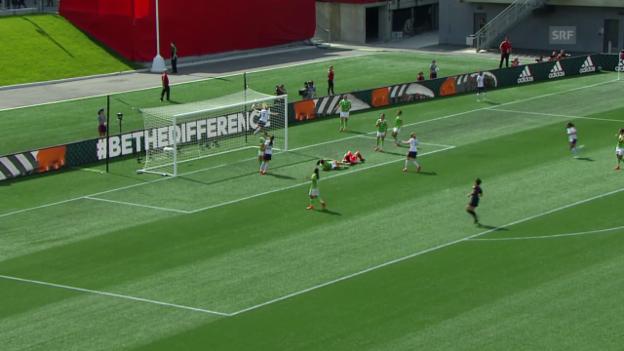 Video «Fussball: Frauen-WM 2015, Gruppe F, Frankreich - Mexiko» abspielen