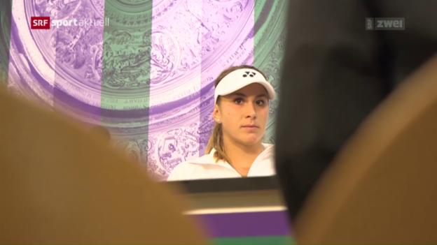 Video «Rückblick auf die 1. Woche in Wimbledon» abspielen