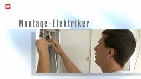 Berufsbild: Montage-Elektriker EFZ