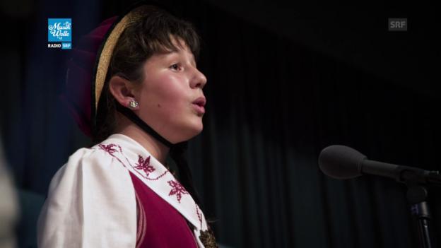 Video «Solojodlerin Célia Schwery» abspielen