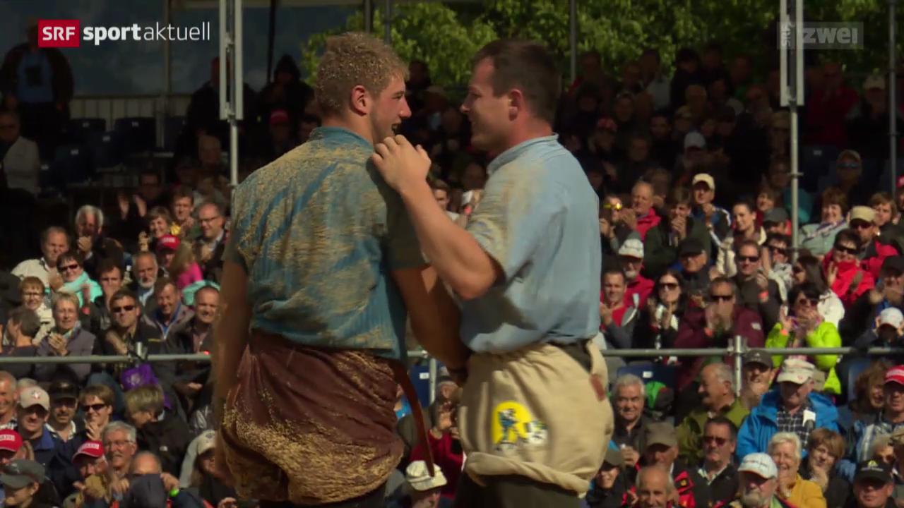 Schwingen: Bündner-Glarner Kantonalfest