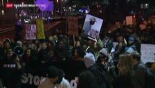 Video «Proteste gegen Polizeigewalt in den USA» abspielen