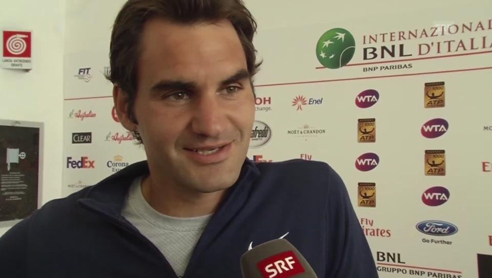 Roger Federer über die Zwillingsbuben