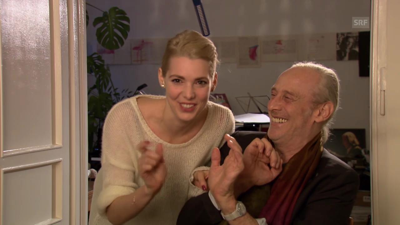 Lia Pale und Mathias Rüegg im Interview