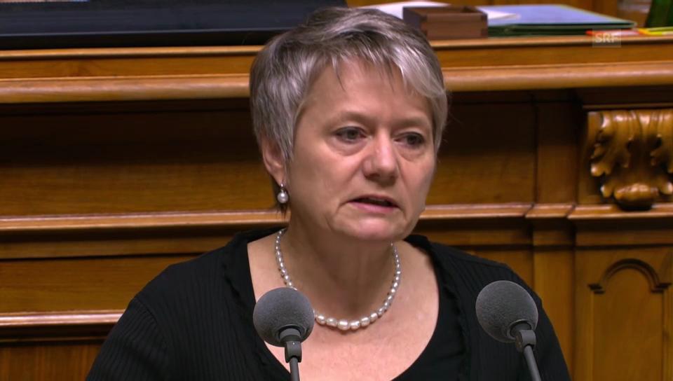 Jacqueline Fehr (SP/ZH) zum Ungleichgewicht in den Kantonen