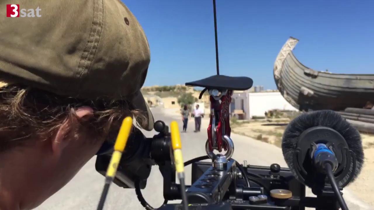 Dreharbeiten auf Malta