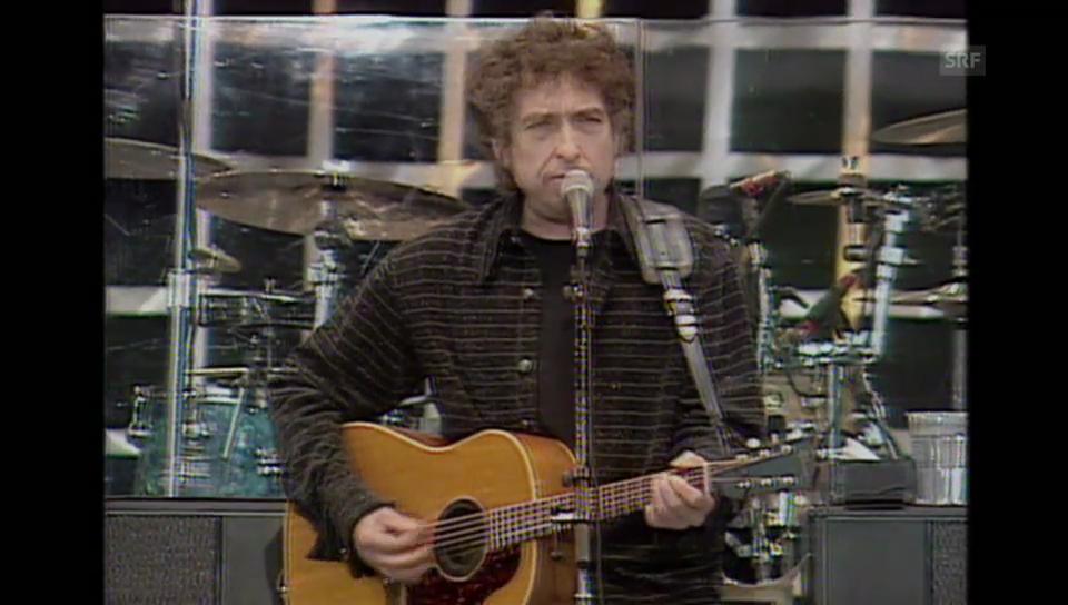 Ur-Vater der Popmusik: Bob Dylan.